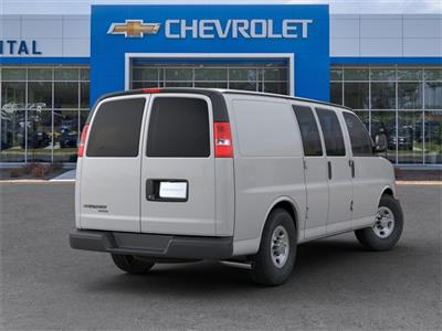 2019 Chevrolet Express 2500 4x2, Masterack Steel General Service Upfitted Cargo Van #9CC66889 - photo 2