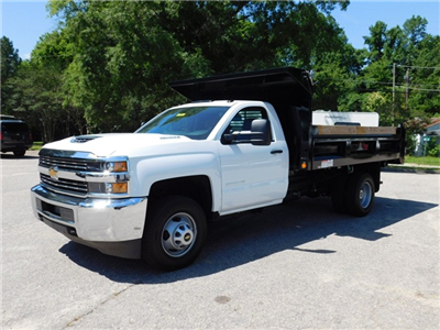 2017 Silverado 3500 Regular Cab DRW, Freedom Load-Pro Dump Body #9CC77191 - photo 3