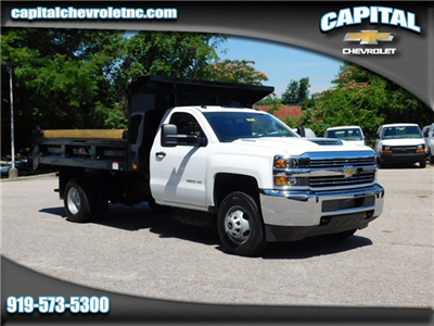 2017 Silverado 3500 Regular Cab DRW, Freedom Load-Pro Dump Body #9CC77191 - photo 1