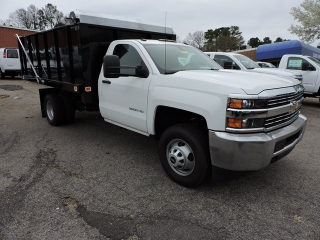 2017 Silverado 3500 Regular Cab DRW, Knapheide Value-Master X Landscape Dump #9CC77916 - photo 1