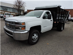 2017 Silverado 3500 Regular Cab DRW, Knapheide Value-Master X Landscape Dump #9CC77916 - photo 3