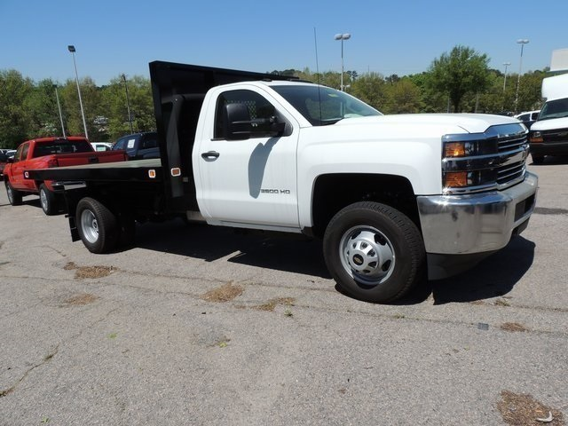 2017 Silverado 3500 Regular Cab DRW 4x4,  Knapheide Value-Master X Platform Body #9CC80048 - photo 1