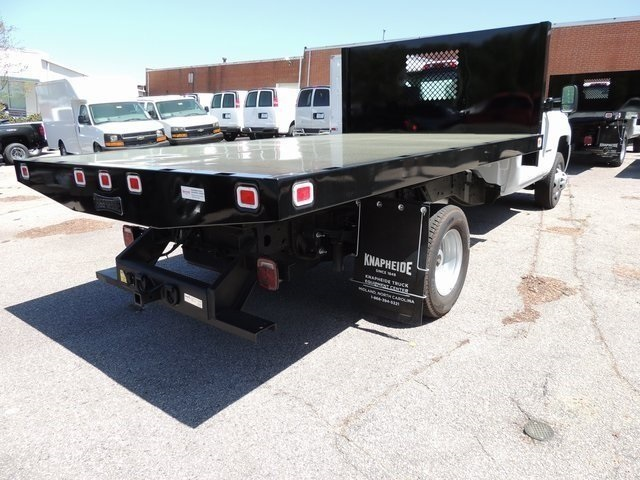 2017 Silverado 3500 Regular Cab DRW 4x4,  Knapheide Platform Body #9CC80048 - photo 2