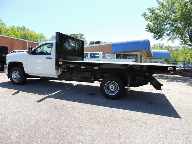 2017 Silverado 3500 Regular Cab DRW 4x4,  Knapheide Platform Body #9CC80048 - photo 6
