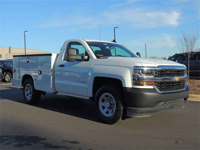 2016 Silverado 1500 Regular Cab 4x2,  Service Body #9CC83297A - photo 10