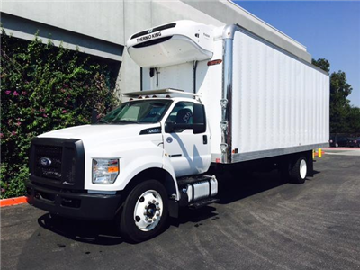 2016 F-650 DRW, General Truck Body Inc. Refrigerated Body #G4121 - photo 8