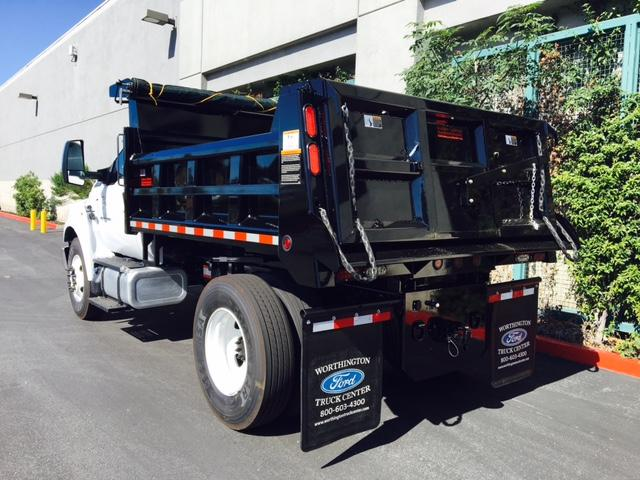 2017 F-650 Regular Cab, Rugby Dump Body #H2025 - photo 2
