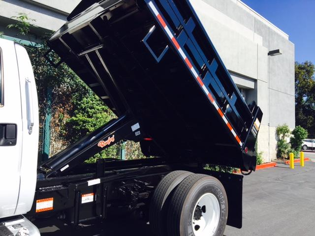 2017 F-650 Regular Cab, Rugby Dump Body #H2025 - photo 7