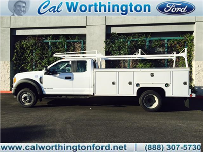 2017 F-550 Super Cab DRW,  Scelzi Crown Service Service Body #H2432 - photo 1