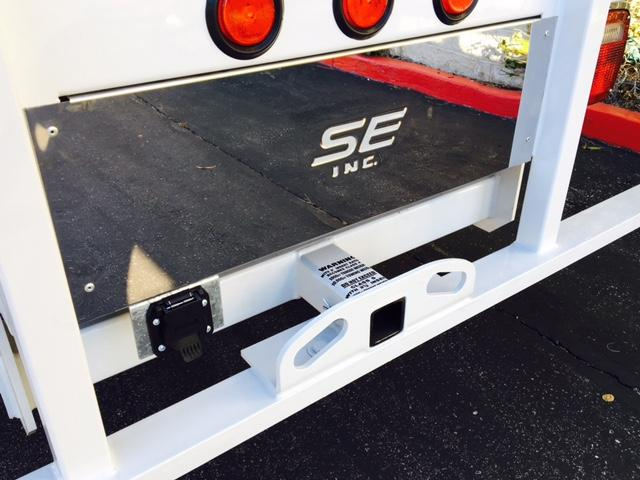 2017 F-550 Regular Cab DRW, Scelzi Western Flatbed Stake Bed #H2442 - photo 7