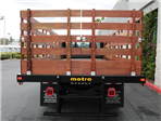 2017 F-650 Regular Cab, Metro Truck Body Stake Bed #H2624 - photo 8