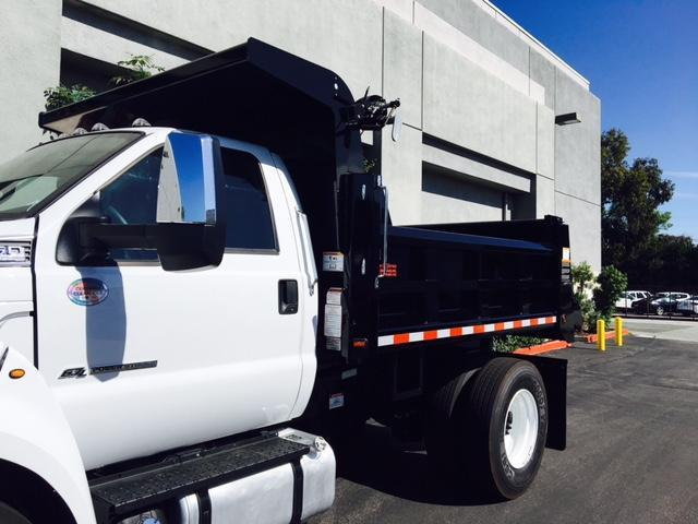 2017 F-650 Regular Cab, Rugby Dump Body #H2625 - photo 7