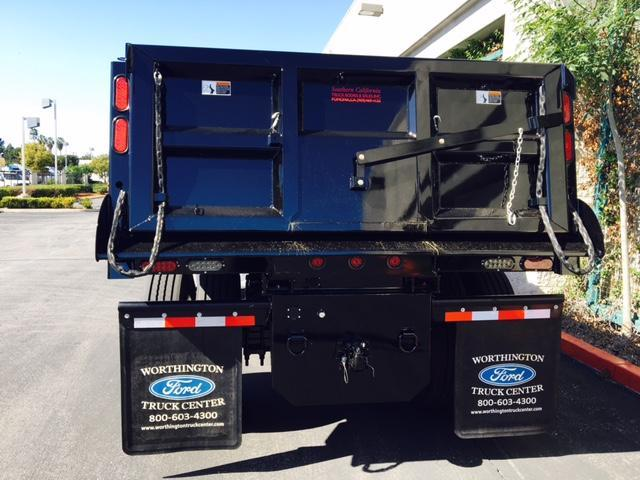 2017 F-650 Regular Cab, Rugby Dump Body #H2625 - photo 8