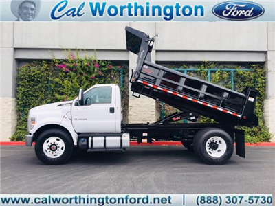 2017 F-750 Regular Cab, Rugby Contractor Dump Body Dump Body #H2678 - photo 1