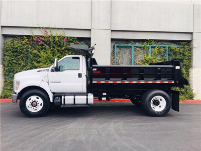 2017 F-750 Regular Cab, Rugby Contractor Dump Body Dump Body #H2678 - photo 2