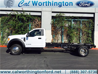 2017 F-550 Regular Cab DRW Cab Chassis #H2838 - photo 1