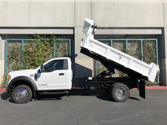 2017 F-550 Regular Cab DRW, Rugby Dump Body #H2863 - photo 15