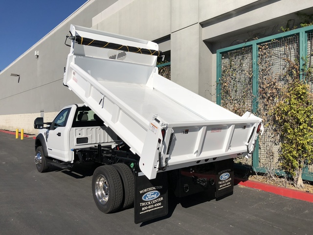 2017 F-550 Regular Cab DRW, Rugby Dump Body #H2863 - photo 16