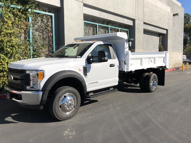 2017 F-550 Regular Cab DRW, Rugby Dump Body #H2863 - photo 3