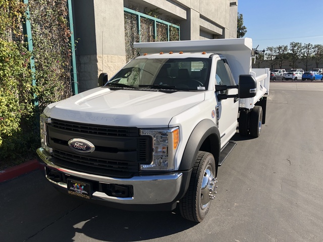 2017 F-550 Regular Cab DRW, Rugby Dump Body #H2863 - photo 4