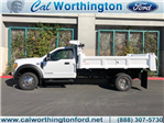 2017 F-550 Regular Cab DRW, Rugby Dump Body #H2863 - photo 1