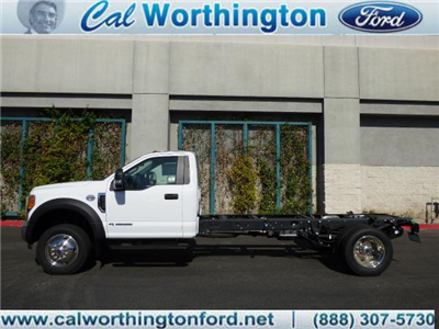 2017 F-550 Regular Cab DRW, Cab Chassis #H2878 - photo 1