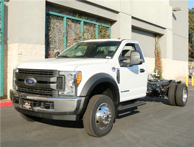 2017 F-550 Regular Cab DRW 4x2,  Cab Chassis #H2881 - photo 3
