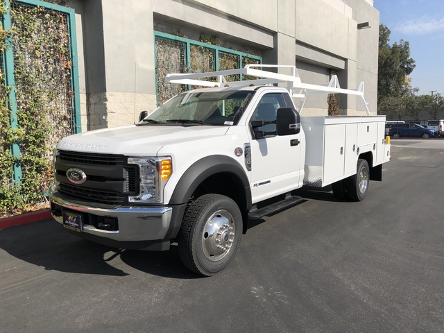 2017 F-550 Regular Cab DRW 4x2,  Scelzi Crown Service Body #H2882 - photo 3