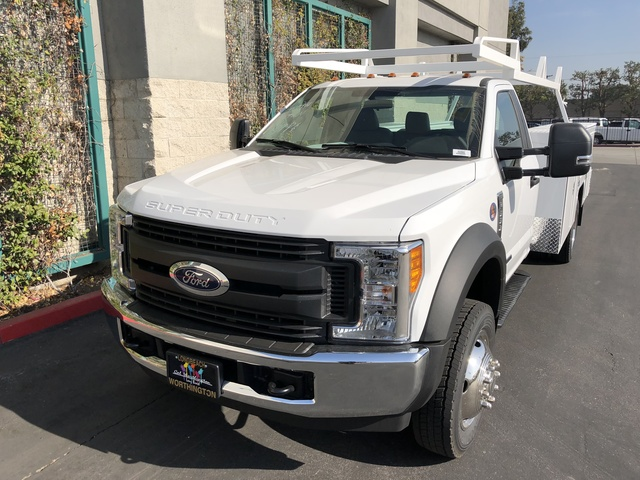 2017 F-550 Regular Cab DRW 4x2,  Scelzi Crown Service Body #H2882 - photo 4