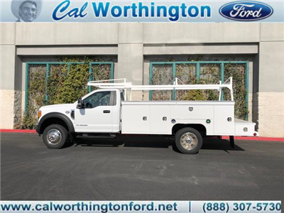 2017 F-550 Regular Cab DRW, Scelzi Crown Service Service Body #H2882 - photo 1
