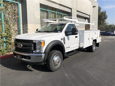 2017 F-550 Regular Cab DRW, Scelzi Crown Service Service Body #H2882 - photo 3