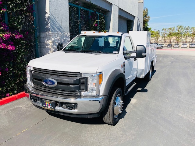 2017 F-550 Regular Cab DRW 4x2,  Scelzi Welder Body #H2883 - photo 4