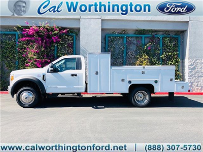 2017 F-550 Regular Cab DRW 4x2,  Scelzi Welder Body #H2883 - photo 1