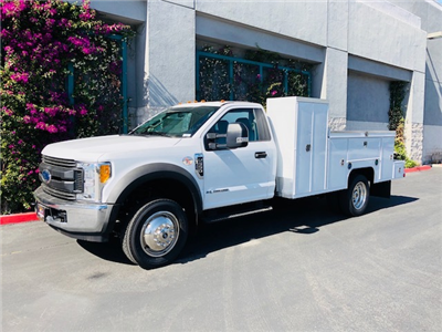 2017 F-550 Regular Cab DRW 4x2,  Scelzi Welder Body #H2883 - photo 3