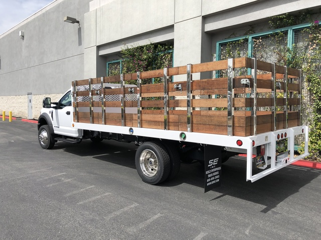 2017 F-550 Regular Cab DRW, Scelzi Stake Bed #H2915 - photo 2