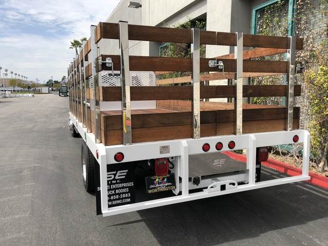 2017 F-550 Regular Cab DRW, Scelzi Stake Bed #H2915 - photo 3