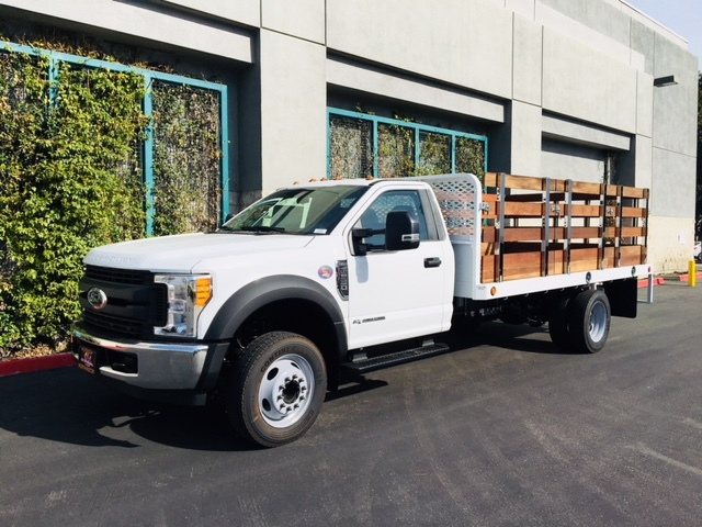 2017 F-550 Regular Cab DRW, Scelzi Stake Bed #H2930 - photo 3