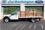 2017 F-550 Regular Cab DRW, Scelzi Stake Bed #H2930 - photo 1