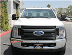 2017 F-550 Regular Cab DRW 4x2,  Scelzi Western Flatbed Stake Bed #H2951 - photo 4