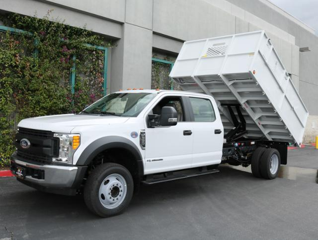 2017 F-550 Crew Cab DRW, Ironside Dump Body #H2960 - photo 3