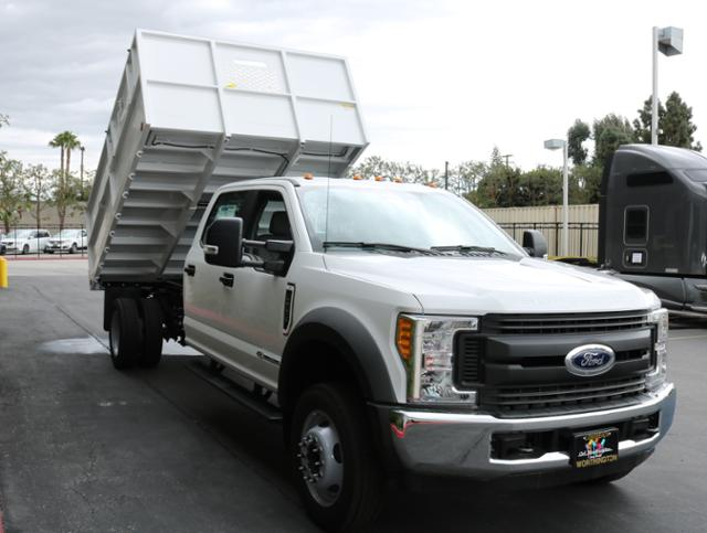 2017 F-550 Crew Cab DRW, Ironside Dump Body #H2960 - photo 4