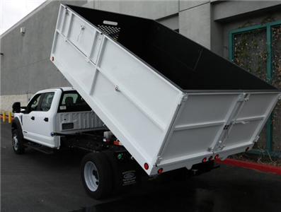2017 F-550 Crew Cab DRW, Ironside Dump Body #H2960 - photo 2