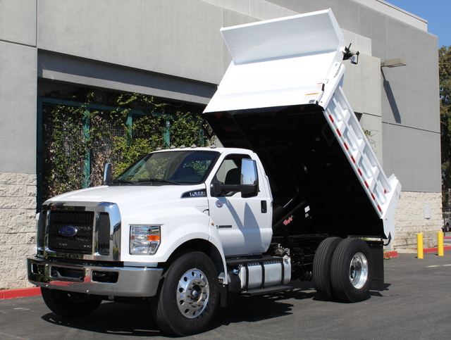 2018 F-650 Regular Cab DRW 4x2,  Rugby Dump Body #J2183 - photo 3