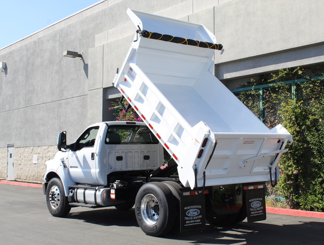 2018 F-650 Regular Cab DRW 4x2,  Rugby Dump Body #J2183 - photo 4