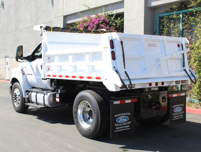 2018 F-650 Regular Cab DRW 4x2,  Rugby Dump Body #J2183 - photo 2