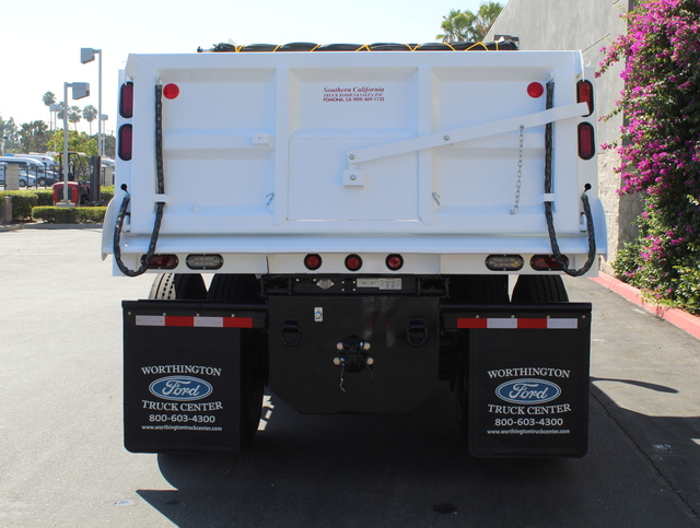 2018 F-650 Regular Cab DRW 4x2,  Rugby Dump Body #J2183 - photo 6