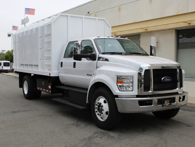 2018 F-650 Crew Cab DRW 4x2,  Southern California Truck Bodies Chipper Body #J2190 - photo 3