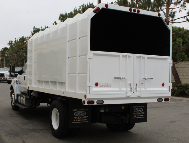 2018 F-650 Crew Cab DRW 4x2,  Southern California Truck Bodies Chipper Body #J2190 - photo 6