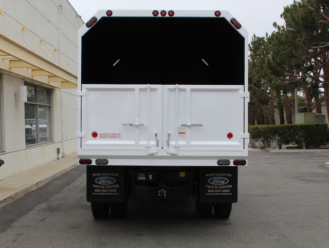 2018 F-650 Crew Cab DRW 4x2,  Southern California Truck Bodies Chipper Body #J2190 - photo 7