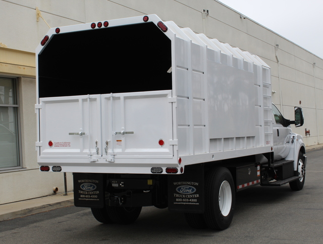 2018 F-650 Crew Cab DRW 4x2,  Southern California Truck Bodies Chipper Body #J2190 - photo 2